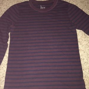 Gap long sleeved Crew neck tee